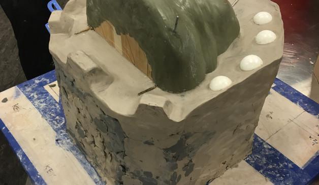 Trucker Mold Clayup 1
