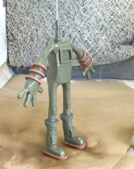 Space Man Clay Sculpt 3/4