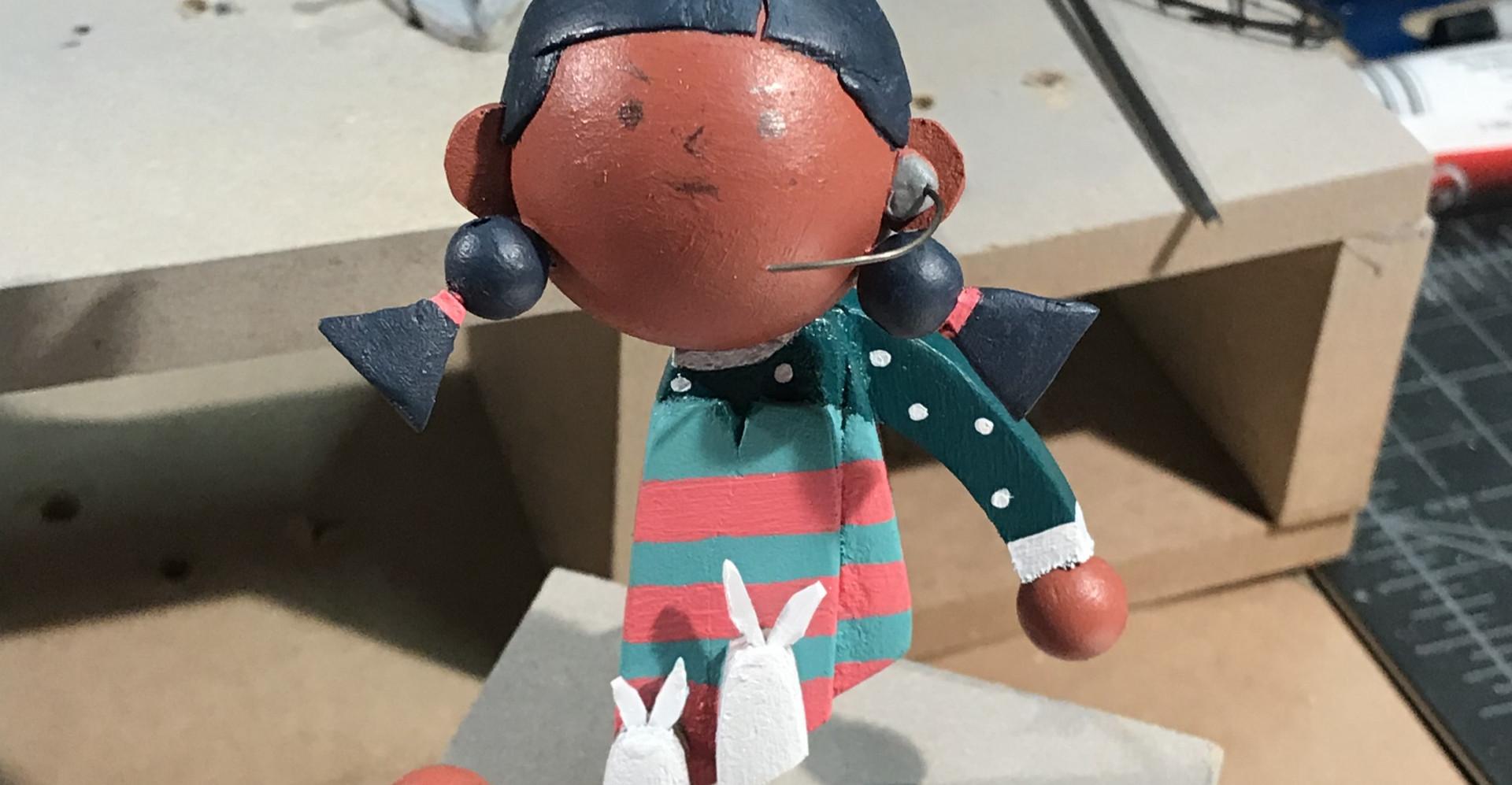 Puppet Paint Progress