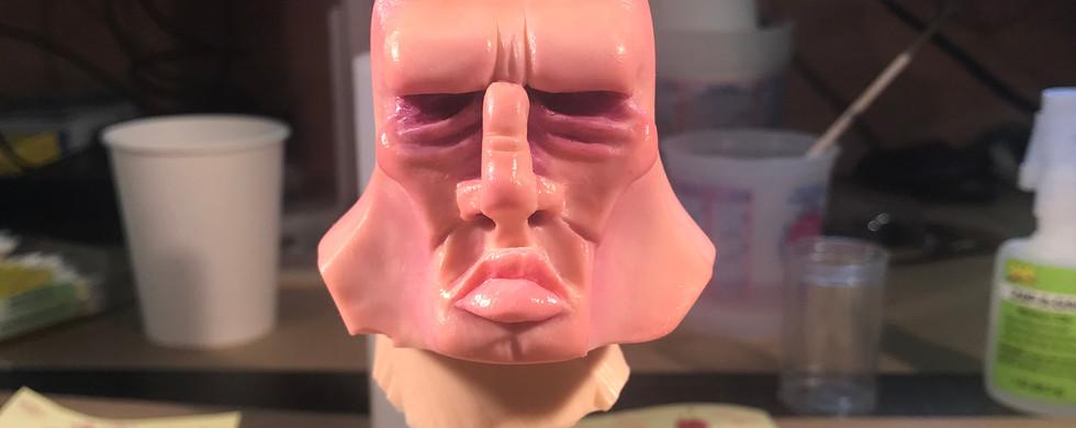Silicone Head Paint Progress