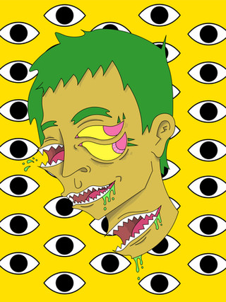 Eye Bust