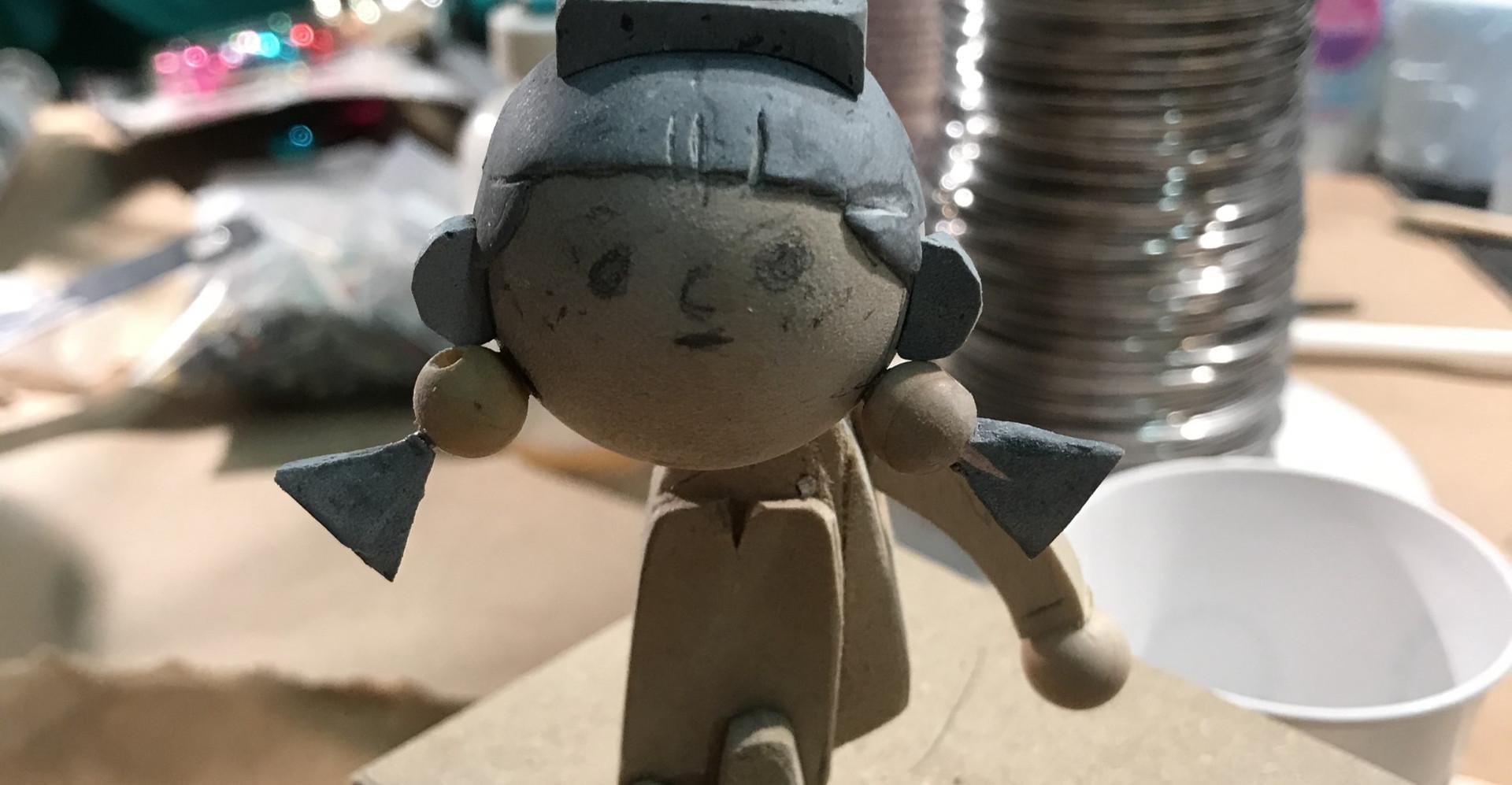 Unpainted Puppet