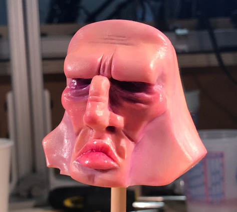 Silicone Head Before Dulling