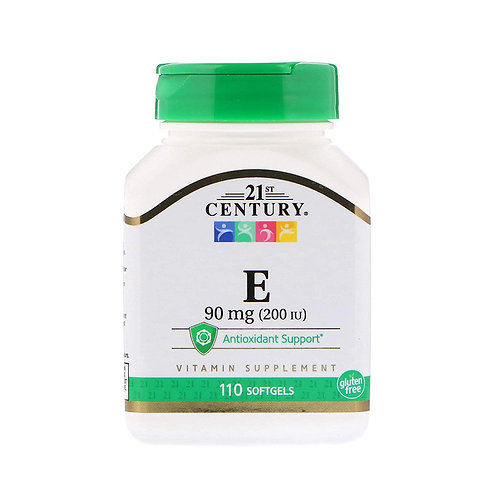 21st Century. Vitamin E. Витамин E