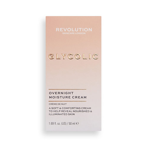 Revolution Skincare. Glycolic Acid Overnight Cream. Ночной гликолевый крем
