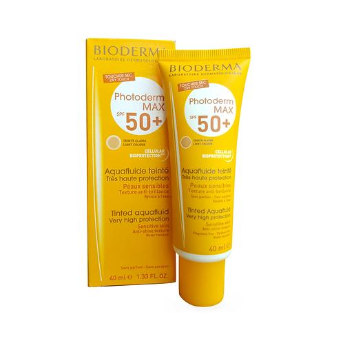 Bioderma. Photoderm MAX SPF 50+. Солнцезащитный крем для чувствительной кожи