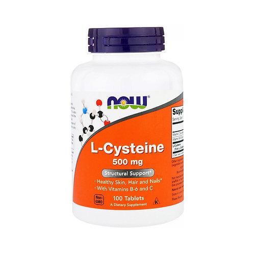 Now Foods. L-Cysteine. L-Цистеин + витамин В6 + витамин С