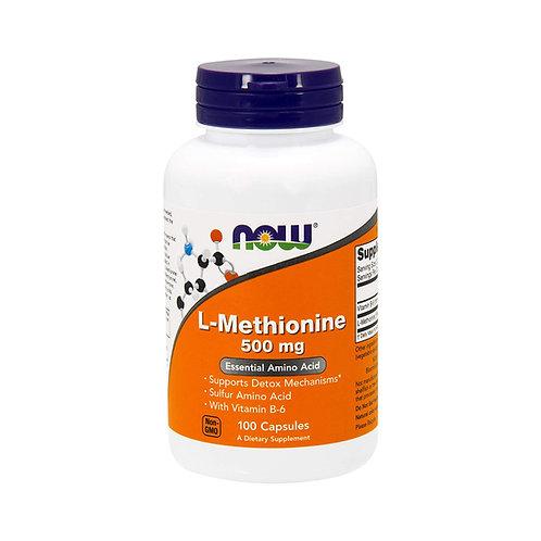 Now Foods. L-Methionine. L-метионин + витамин B6