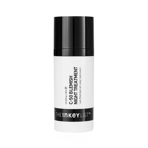 The Inkey List. C-50 Blemish Night Treatment. Ночная маска от воспалений