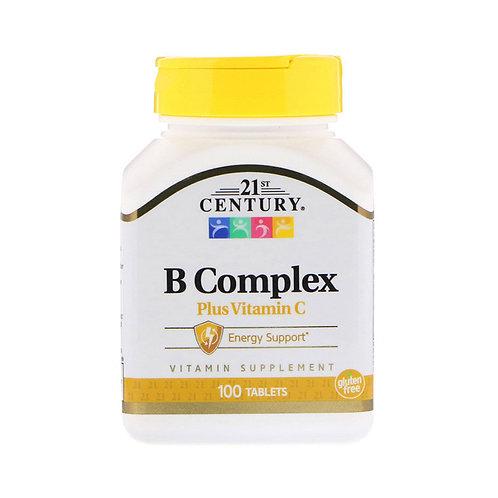 21st Century. B Complex. Комплекс витаминов группы B + витамин C
