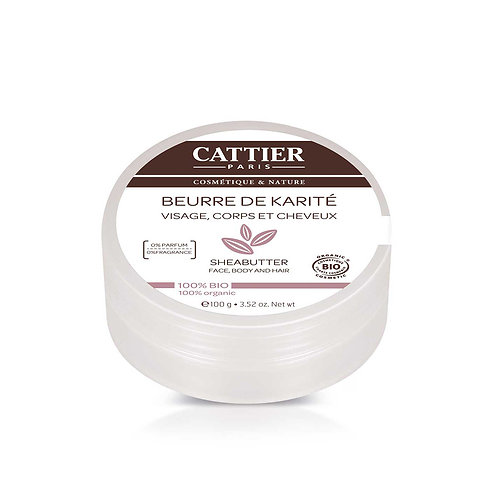 Cattier. Shea butter. 100% натуральное масло ши (карите)