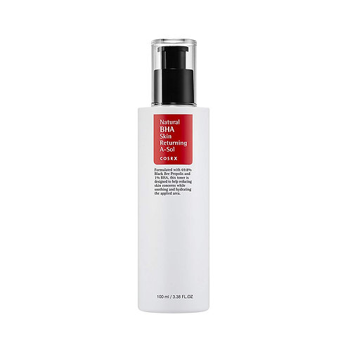 COSRX. Natural BHA Skin Returning A-Sol. Тонер с BHA-кислотами против воспалений