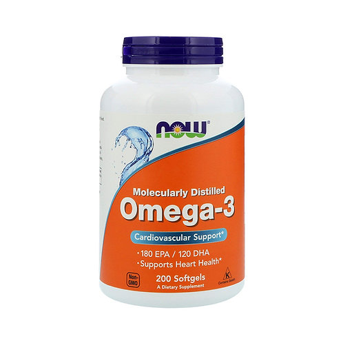 Now Foods. Omega-3. Омега-3
