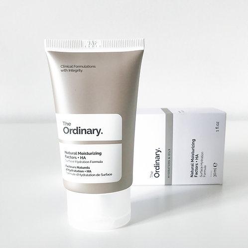 The Ordinary. Natural moisturizing factors + HA. Крем с гиалуроновой кислотой