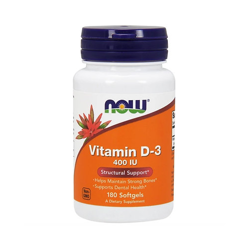 Now Foods. Vitamin D3. Витамин D3