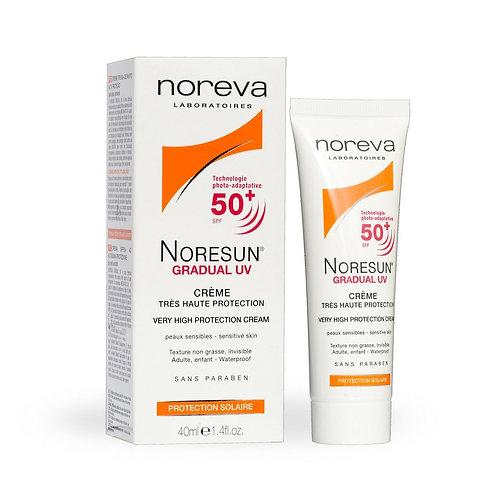 Noreva. Noresun UV Protect Mineral Cream SPF 50. Солнцезащитный крем SPF 50