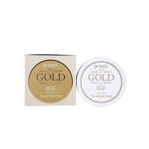 Petitfee. Gold & EGF Eye Patch. Гидрогелевые патчи с золотом и EGF
