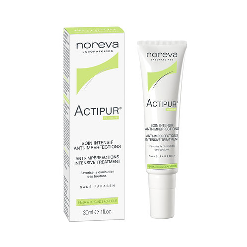 Noreva. Actipur Soin Intensif anti-imperfections. Точечное средство от прыщей
