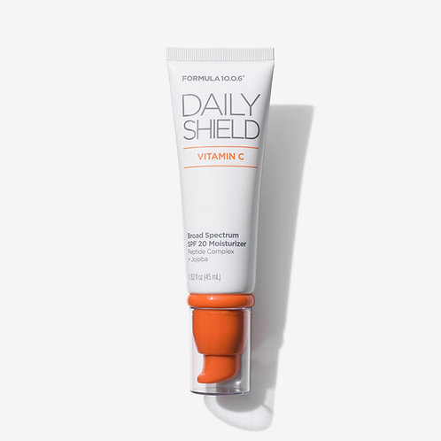 Formula 10.0.6. Daily Shield SPF 20. Увлажняющий солнцезащитный крем с пептидами