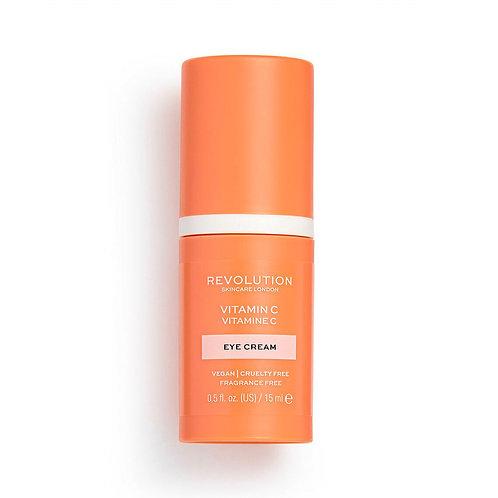 Revolution Skincare. Vitamin C Eye Cream. Крем для кожи вокруг глаз + витамин C
