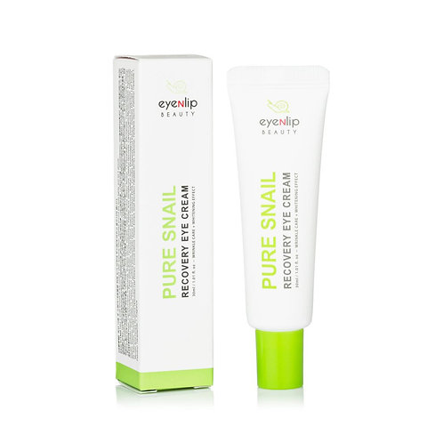 Eyenlip. Pure Snail Recovery Eye Cream. Восстанавливающий крем вокруг глаз