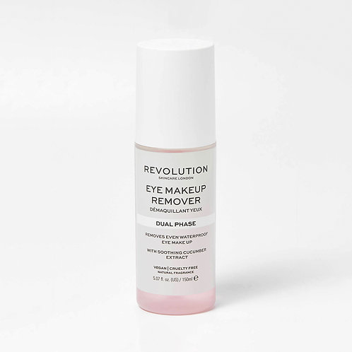 Revolution Skincare. Dual Phase Makeup Remover. Средство для демакияжа глаз