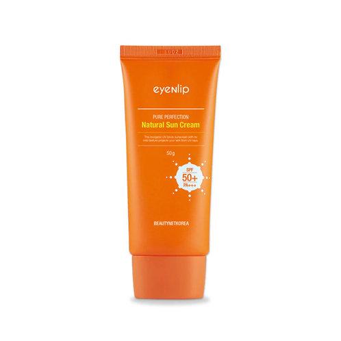 Eyenlip. Pure Perfection Natural Sun Cream SPF 50+. Солнцезащитный крем