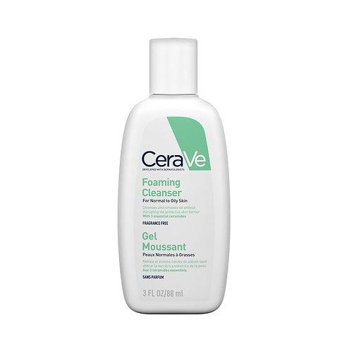 CeraVe. Foaming Cleanser. Гель-пенка для умывания жирной кожи