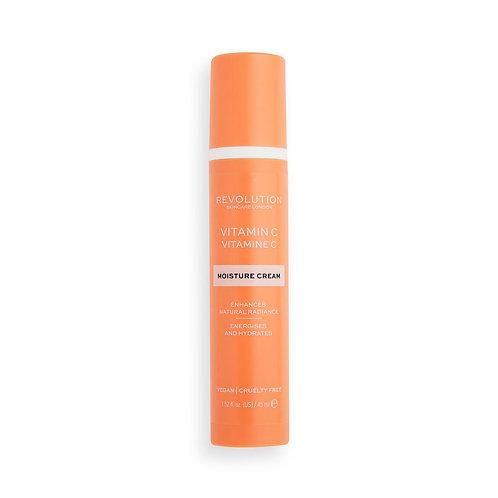 Revolution Skincare. Vitamin C Moisture Cream. Увлажняющий крем с витамином C