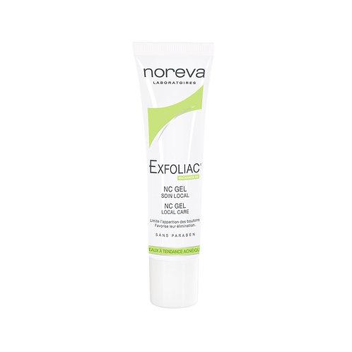 Noreva. Exfoliac NC gel soin local. Локальное средство с ниацинамидом