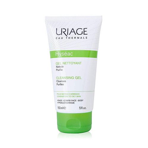 Uriage. Hyseac gel nettoyant doux. Мягкий гель для умывания с термальной водой