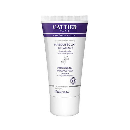 Cattier. Masque eclat hydratant. Увлажняющая маска с соком алоэ
