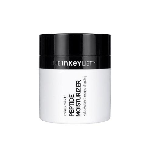 The Inkey List. Peptide Moisturiser. Пептидный омолаживающий крем