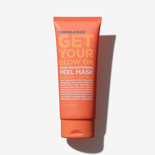 Formula 10.0.6. Get Your Glow On. Отшелушивающая маска-пленка для сияния кожи