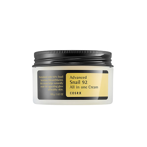 COSRX. Advanced Snail 92 All in one Cream. Крем с экстрактом муцина улитки