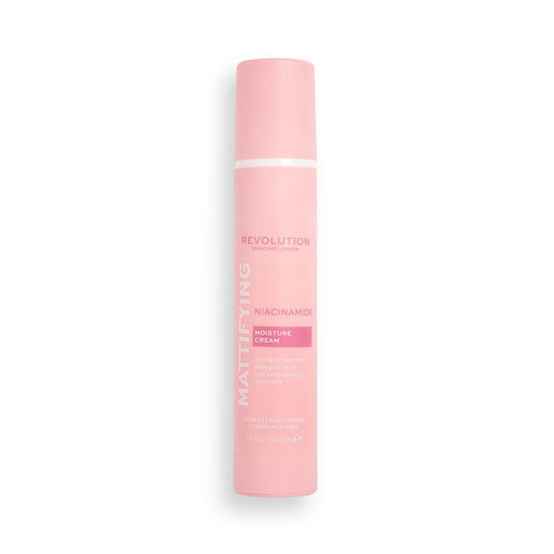 Revolution Skincare. Niacinamide Mattifying Cream. Матирующий крем + ниацинамид