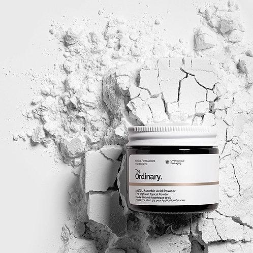 The Ordinary. 100% L-Ascorbic Acid Powder. L-аскорбиновая кислота, витамин C