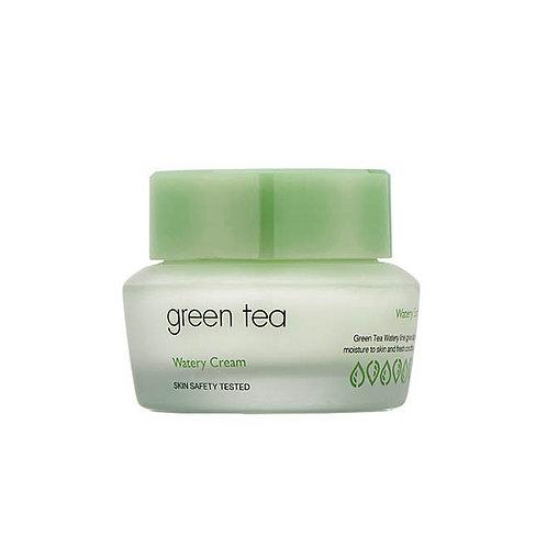 It's Skin.Green Tea Watery Cream. Крем с экстрактом зеленого чая