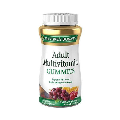 Nature's Bounty. Adult Multivitamin Gummies. Комплекс витаминов с биотином