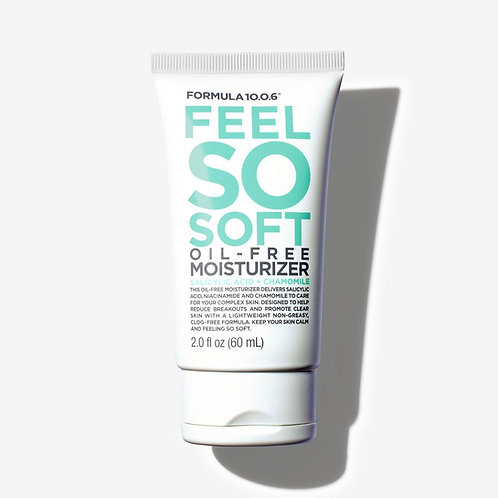 Formula 10.0.6. Feel So Soft. Увлажняющий крем для жирной проблемной кожи