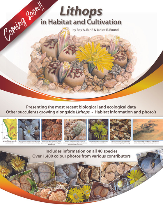 Lithops in Habitat and Cultivation - COMING SOON!