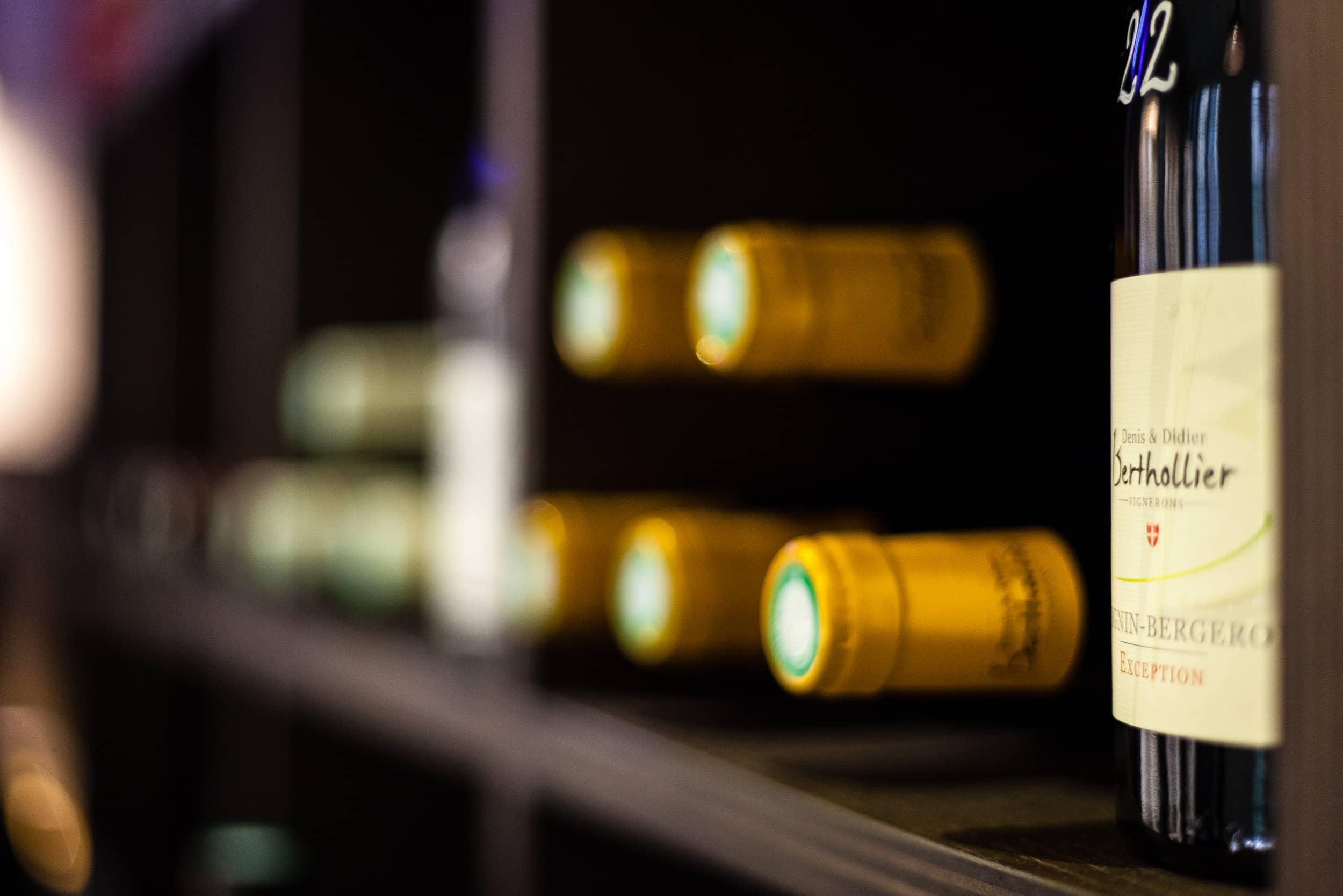 Cave à vins de Savoie à Paris