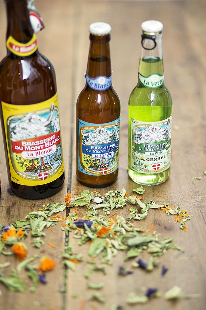 Bières brasserie du mont blanc