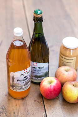 Jus de pomme, cidre de Savoie