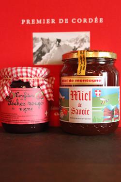 Confitures et miels de Savoie