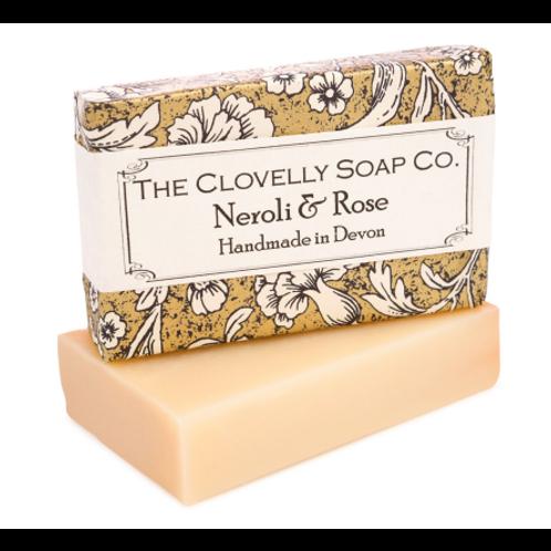 The Clovelly Soap Co - Neroli, Rose & Grapefruit Soap