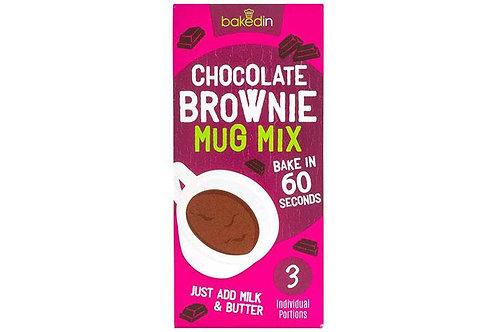 Chocolate Brownie Mug Mix - Baked In