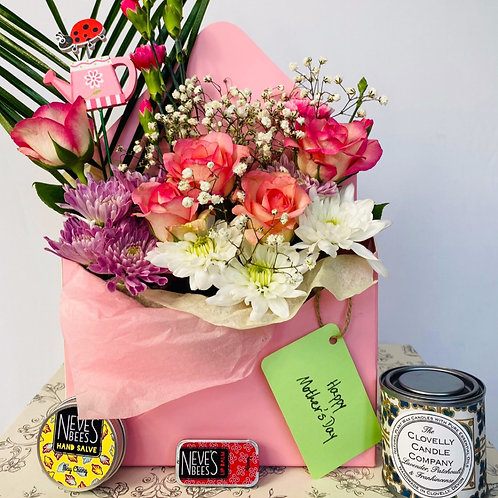 Mother's Day Pamper Hamper - Alcohol options available