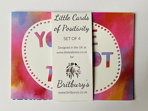 'You've Got This' Pack of 4 A5 Postcard