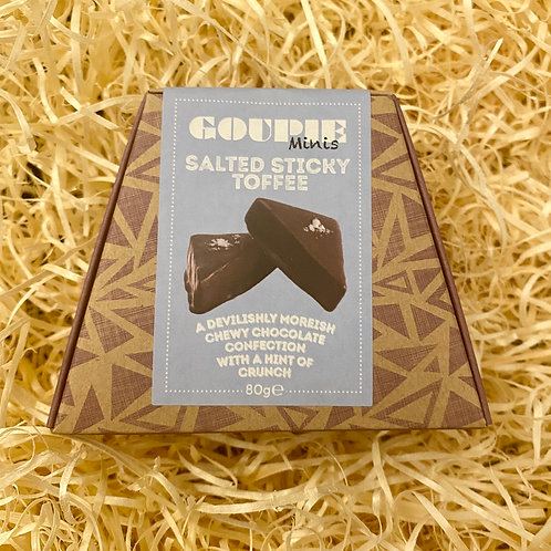 Goupie Salted Sticky Toffee mini - 75g